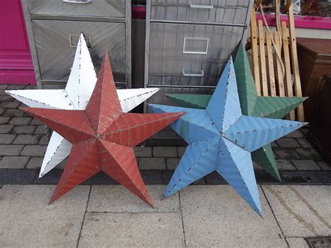 Amish Metal Barn Star By Woods Vintage Home Interiors