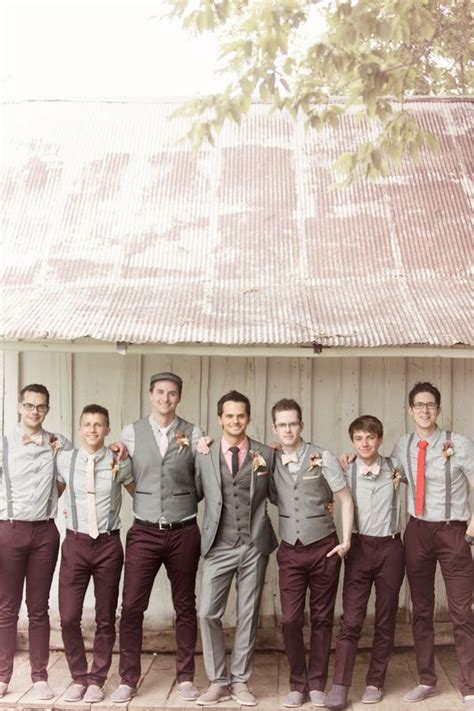 Best 25+ Mismatched groomsmen ideas on Pinterest | Casual groomsmen attire Grooms and ushers ...