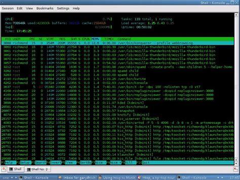 htop ncurses interactive system better monitoring tip tool desktop configuring