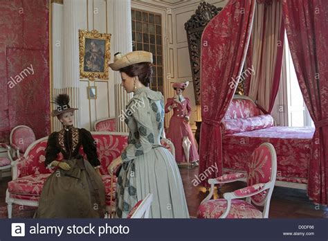 Exhibition Period Costumes In King's Bedroom Chateau D
