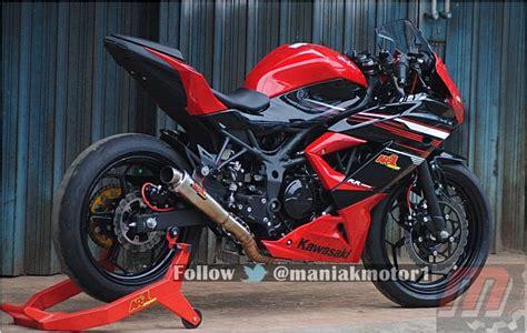 Modifikasi 250 Mono by Modifikasi Kawasaki 250rr Mono Di Sentul Top Speed