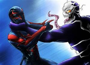 2099 Spiderman vs Venom by Gary-Q on DeviantArt