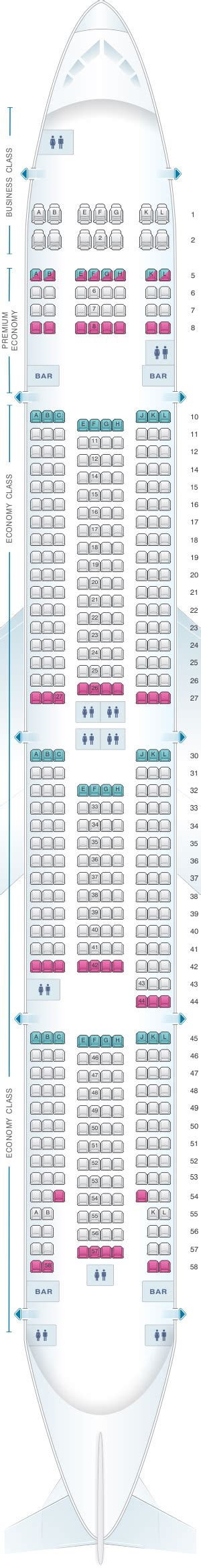 plan siege boeing 777 300er plan de cabine air boeing b777 300 haul