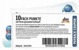 Payback De Ecoupons : dm bundesweit 10 fach payback coupon 10 bei dm bis ~ One.caynefoto.club Haus und Dekorationen