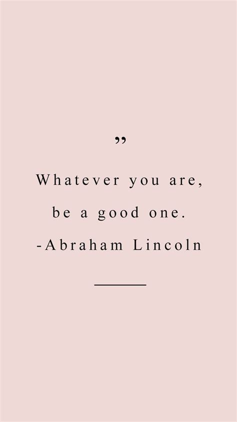 good  abraham lincoln quote