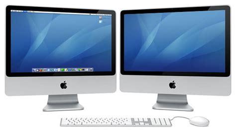 run dual monitors   imac    digital
