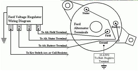 Have Alternator From Ford Falcon Want Utilize