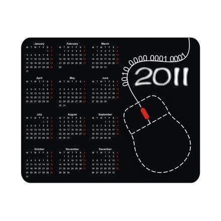 impression tapis de souris calendrier