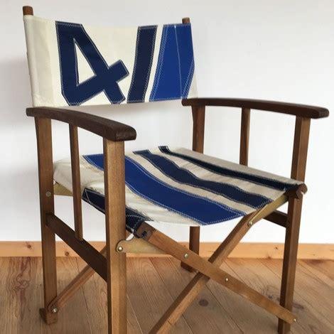 chaise metteur en sc ne b b fauteuil metteur en scène b o carré en voile recyclée