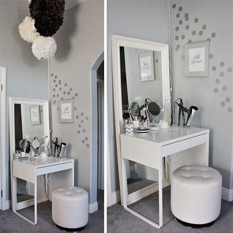 white makeup vanity desk white minimalist makeup vanity table design ikea with