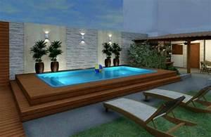Pool Für Kleinen Garten : mini pools f r einen kleinen garten ~ Whattoseeinmadrid.com Haus und Dekorationen