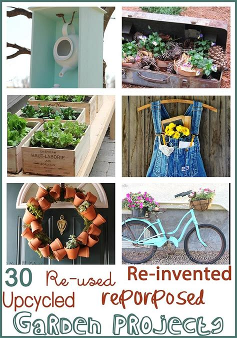 Best 25+ Recycled Garden Crafts Ideas On Pinterest