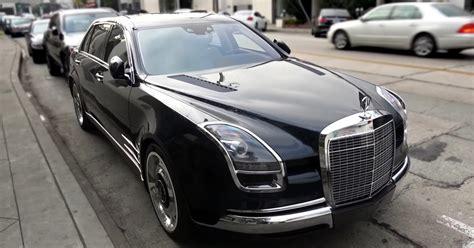 S600 Royale by шпионский видео обзор уникального Mercedes S600 Royale