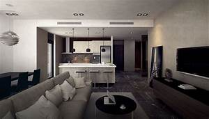 2 bedroom apartment interior design ideas at home design With 3 bright unique inspirations home interior design