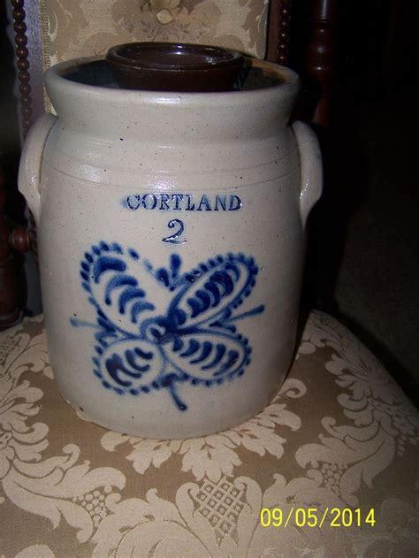 antique stoneware cobalt blue 2 gallon jug crock ebay 685 best antique vintage crocks jugs images on