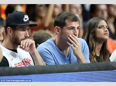 Sergio Ramos joins Iker Casillas and girlfriend Sara