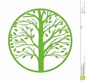 Green Tree Icon Vector Illustration | CartoonDealer.com ...