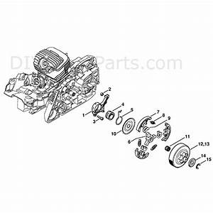 Stihl Ms 271 Chainsaw  Ms271 Z  Parts Diagram  Oil Pump