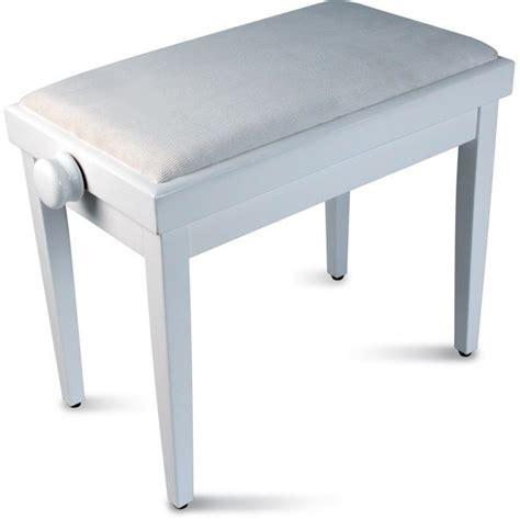 siege pour piano delson banquette piano blanche réglable achat vente