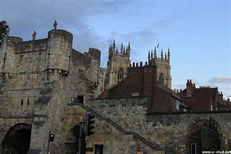 York, England - Petergate and York Minster in the background.
