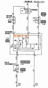 Mitsubishi Pajero Light-weight Off-road Vehicle Headlamp Scrubber Wiring Circuit Diagram