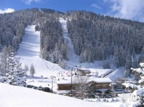 chalet for rent in a hamlet in la plagne la roche iha 7110