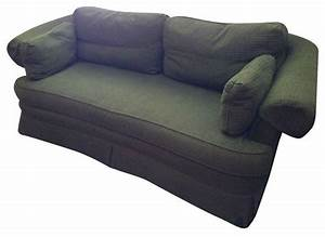 Hunter green rolled arm sofa transitional sofas by for Hunter green sectional sofa
