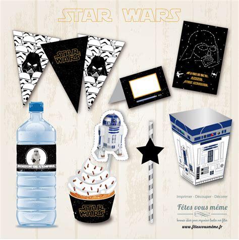 decoration star wars  anniversaire dans les etoiles