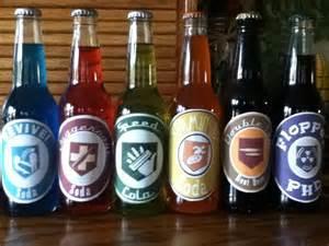 Perk Cola Bottles