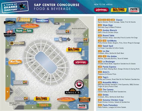 round table sports arena san jose sharks hockey the sap center