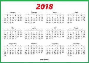 2018 calendar one page printable calendar templates With single page calendar template