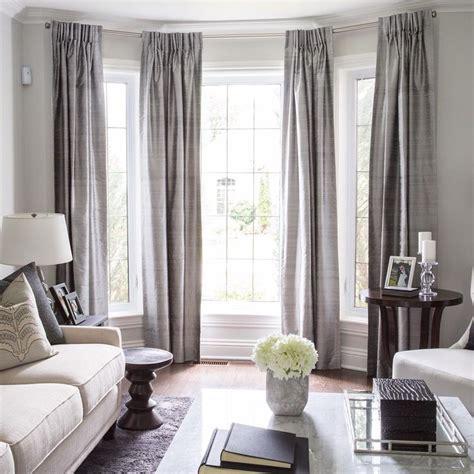 how to drape a bay window best 25 bay window curtains ideas on