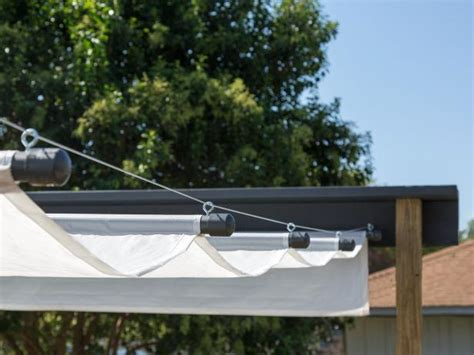 how to make a canopy how to build an outdoor canopy hgtv