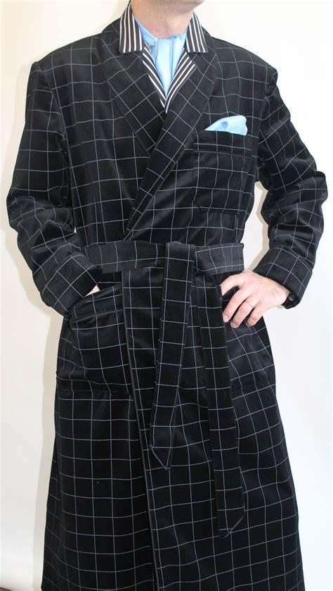 robe de chambre homme coton robe de chambre pour homme en velours de coton doublure