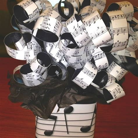 musical theme party centerpiece   themed party