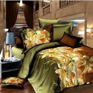 Housse De Couette 3d : housse de couette 3d flowers parure de lit adulte bedding ~ Dailycaller-alerts.com Idées de Décoration