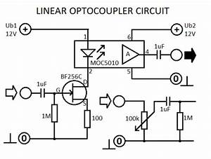 linear optocoupler circuit With linear conchord l45a schematic diagram