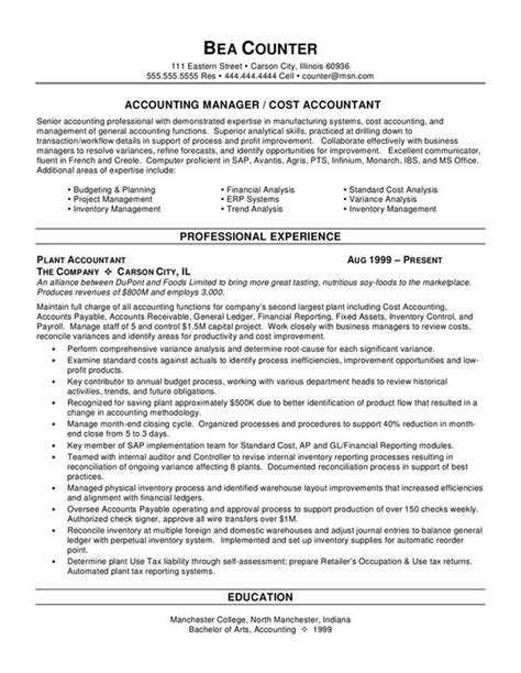 accounting resumes with no experience graduate school accounting and resume on