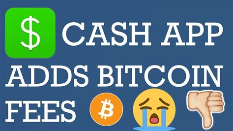 To proceed with cashing out bitcoin, on the left side select bitcoin (1) and on the right side click credit/debit card (2). Cash App Bitcoin Fees Coming | How Much are Cash App ...