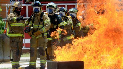 Del Mar Fire Academy Cadets Face Heat Extinguish Fires