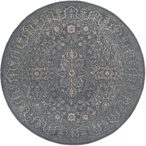 Blue Round Rugs 6 Feet by Safavieh Antiquity Blue 6 Ft X 6 Ft Round Area Rug At14e