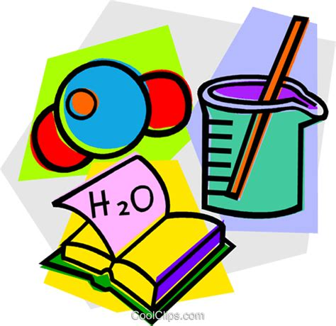 Cool Clip School Project Physics Royalty Free Vector Clip