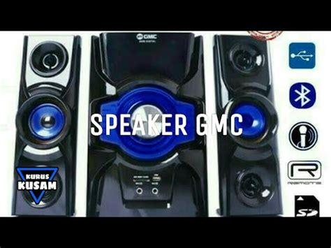unboxing speaker gmc 889b power aktif lifier youtube