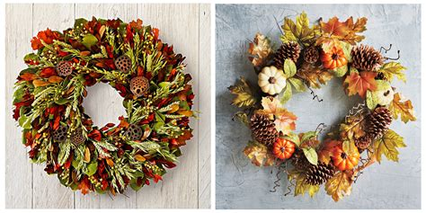 wreaths for fall 15 best fall wreath ideas for 2017 beautiful front door fall wreaths