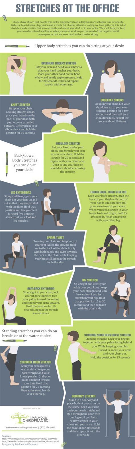 Office Desk Exercises by 12 Office Exercises To Refresh Your Tired Muscles