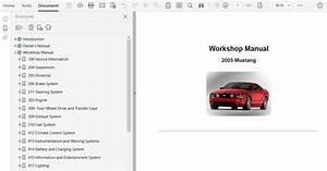 2005 Ford Mustang Repair Manual