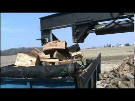 skid steer wood splitter youtube