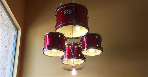 ls plus drum chandelier how to make a drum set chandelier