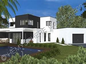 Maison En L Moderne : construire sa maison moderne ~ Melissatoandfro.com Idées de Décoration