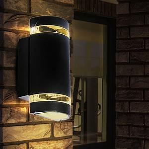 Up And Down Lampen Aussen : led au en beleuchtung wand leuchte up and down strahler akzent garten lampe gu10 ebay ~ Whattoseeinmadrid.com Haus und Dekorationen